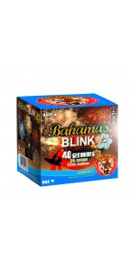 Feu d'artifice compact Bahamas Blink clignotant 25 coups
