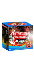 Feu d'artifice compact Bahamas Crackling crépitants 25 coups