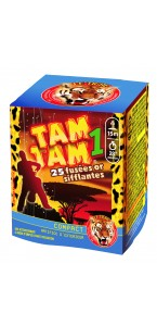 Feu d'artifice compact Tam Tam 1  25 coups