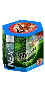 Feu d'artifice compact Willow 19 coups