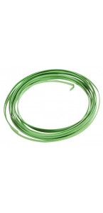Fil aluminium plat vert 4 mm x 5 m