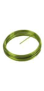 Fil aluminium vert 2 mm x 5 m