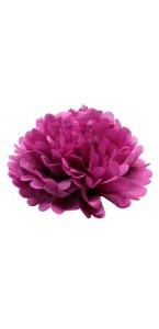 Fleur déco fuschia D 45 cm