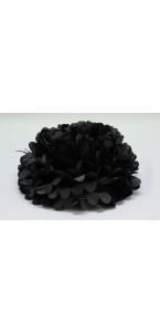 Fleur déco noire D 45 cm