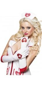 Gants infirmière mi-longs