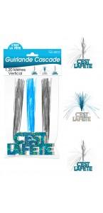 Guirlande Cascade C'est la Fête Hogramme bleue