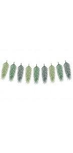 Guirlande feuilles de palmier 125 cm