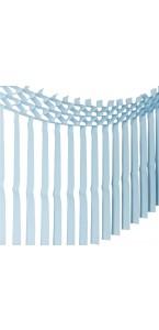 Guirlande franges bleues 3m x 70 cm