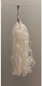 Guirlande Tassel 5 pompons blancs