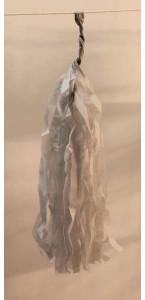 Guirlande Tassel 5 pompons gris