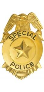 Insigne FBI doré