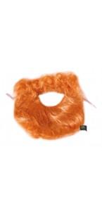 Kit barbe + moustache rousse