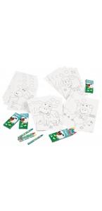 Kit de coloriage Ferme 20 pièces