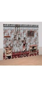 Kit de décoration murale Scene setter la boucherie d'Halloween