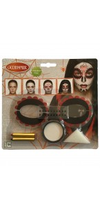 Kit de maquillage Day of the dead Halloween