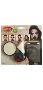 Kit de maquillage Démon Hurlant  Halloween