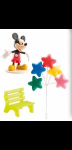 Kit décor gâteau Mickey
