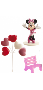 Kit décor gâteau Minnie