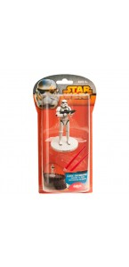 Kit décor gâteau Star Wars- Stormtrooper