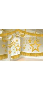 Kit décoration de salle or 28 pièces