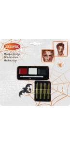 Kit maquillage et tatouage  halloween