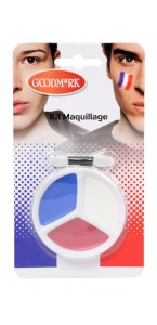 Kit maquillage tricolore Coupe du Monde 2018