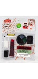 Kit maquillage zombie latex  halloween