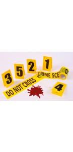 Kit scène de crime Halloween