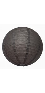 Lanterne grise en papier D 50 cm