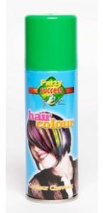 Laque cheveux verte en spray de 125 ml