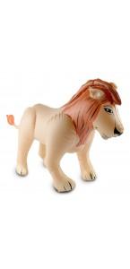 Lion gonflable 60 cm