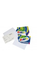 Lot de 10  cartes invitation  Party