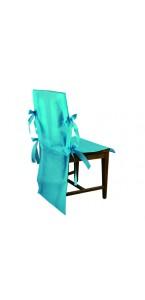 Lot de 10 housses de chaise turquoise