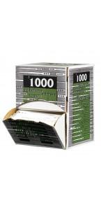 Lot de 1000 spatules jetables en plastique blanc 11 ,2 cm