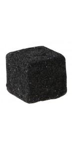 Lot de 12 cubes noir pailletés