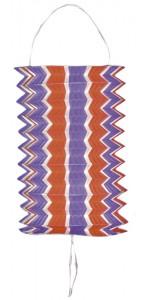 Lot de 12 lampions cylindriques tricolore 13 cm bleu blanc rouge