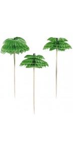 Lot de 12 pics palmier