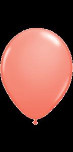 Lot de 20 ballons de baudruche en latex opaque pêche