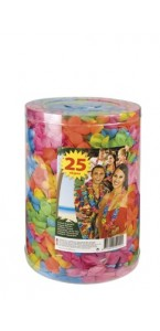 Lot de 20 Colliers hawai multicolores 72 cm x 6 cm
