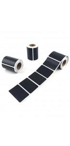 Lot de 20 étiquettes Tableau noir adhésives 9,5 x 4,5 cm