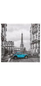 Lot de 20 Serviettes intissé Tour Eiffel 25 x 25 cm