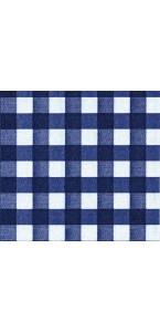 Lot de 20 serviettes intissée Bistrot bleu 40 x 40 cm