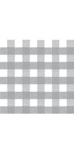 Lot de 20 serviettes intissée Bistrot gris 40 x 40 cm
