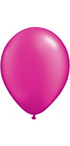 Lot de 25 ballons en latex perle Rose
