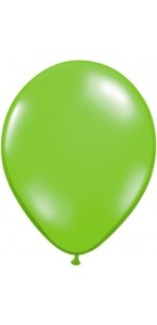 Lot de 25 ballons en latex perle Vert lime