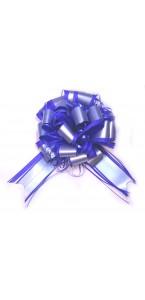 Lot de 3 nœuds à tirer pompon rivage bleu