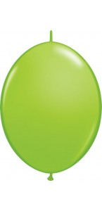 Lot de 50 ballons double attache en latex vert anis