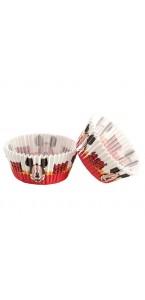 Lot de 50 Caissettes pour cupcake Mickey  5 cm x 3 cm