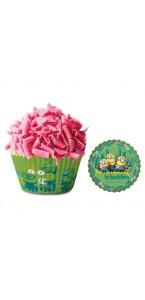 Lot de 50 Caissettes pour cupcake Minions 5 cm x 3 cm