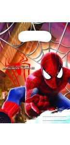 Lot de 6 sachets cadeaux amazing spiderman 2